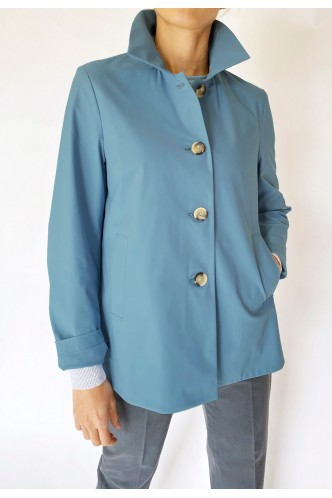 HARRIS_WHARF_LONDON_SHORT_JACKET_WITH_PLEAT_AT_BACK_MARIONA_FASHION_CLOTHING_WOMAN_SHOP_ONLINE_A2328PYZ