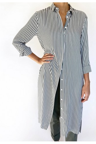 PESERICO_LONG_STRIPED_DRESS_MARIONA_FASHION_CLOTHING_WOMAN_SHOP_ONLINE_S02079A
